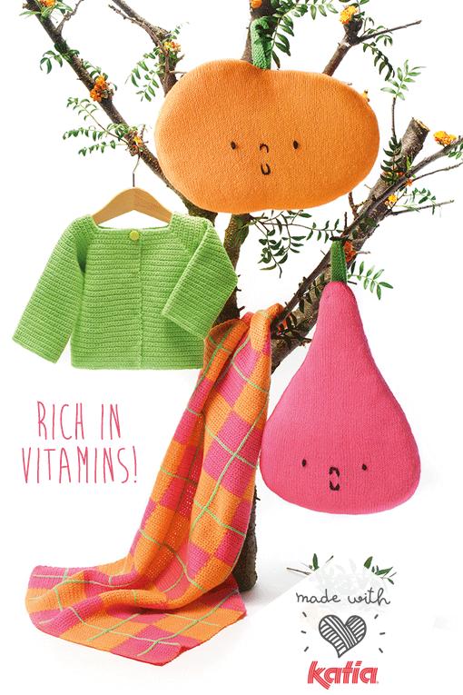cushions-fruits-knitting