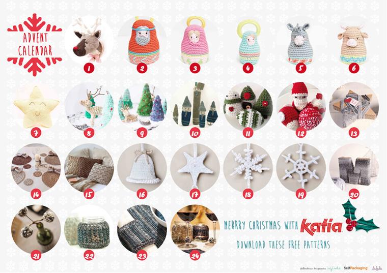 Amigurumi Pattern Crochet Christmas Micro World