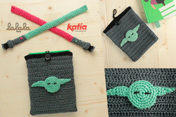 Darth Vader Potholder Crochet Pattern - for beginners | 378x567