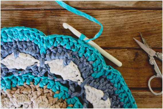 Craft Lovers Mandala Rug Made With Washi By Susimiu