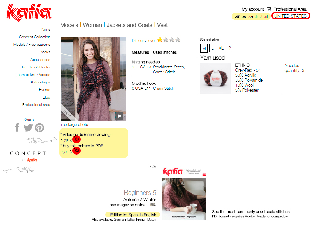 patrones-video-guias-katia-usa - Katia Blog Yarns & Fabrics