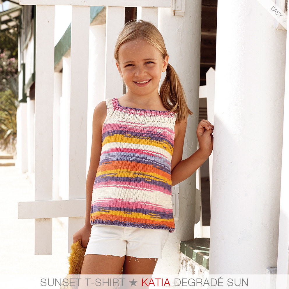 These are the 7 easiest knit patterns for girls from Katia Kids 81