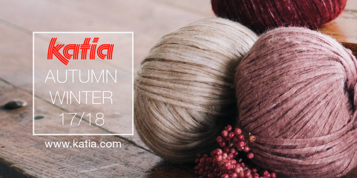 Trends 2017 autumn winter - Autumn Winter 2017 2018 Katia Yarns Magazines And Trends