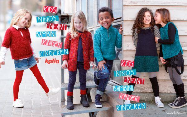 Hand knit kids fashion