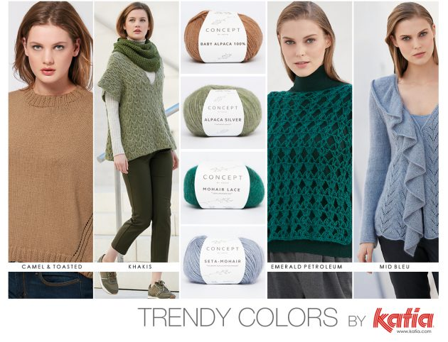 Autumn Winter 17/18 colour trends