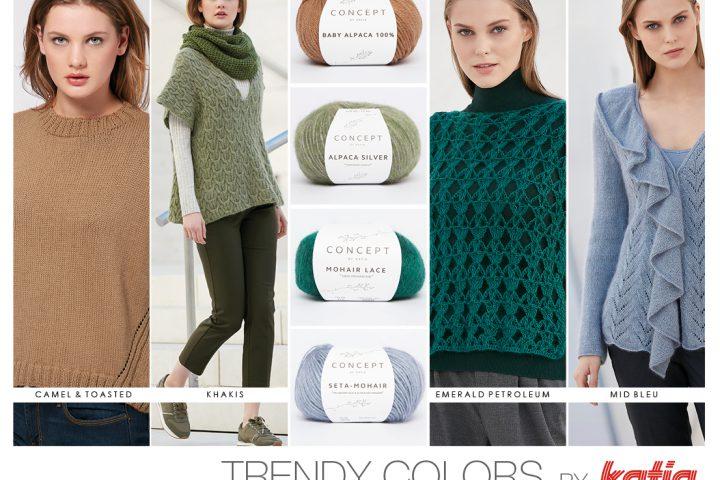 Autumn Winter 17/18 colour trends