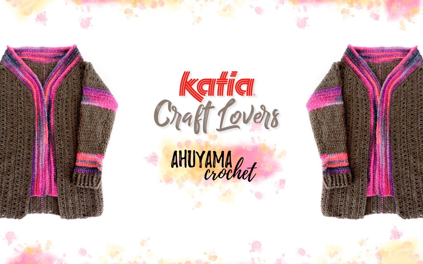 How to make a crochet coat: pattern and video by Ahuyama Crochet