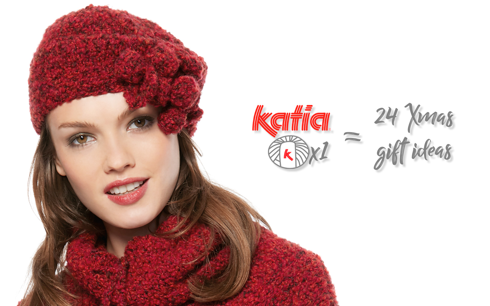 Handmade Christmas gift ideas each made with only 1 ball of Katia yarn