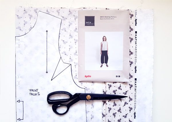 cut trace sewing pattern