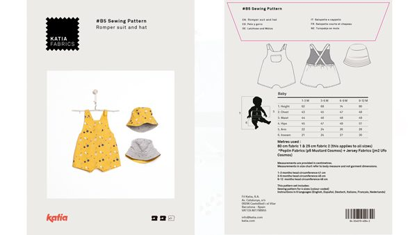 baby dungarees pattern