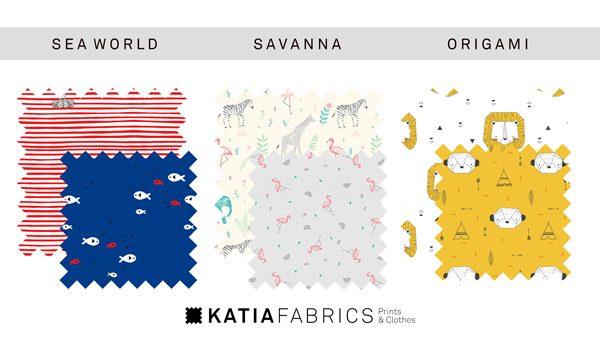 telas infantiles katia fabrics