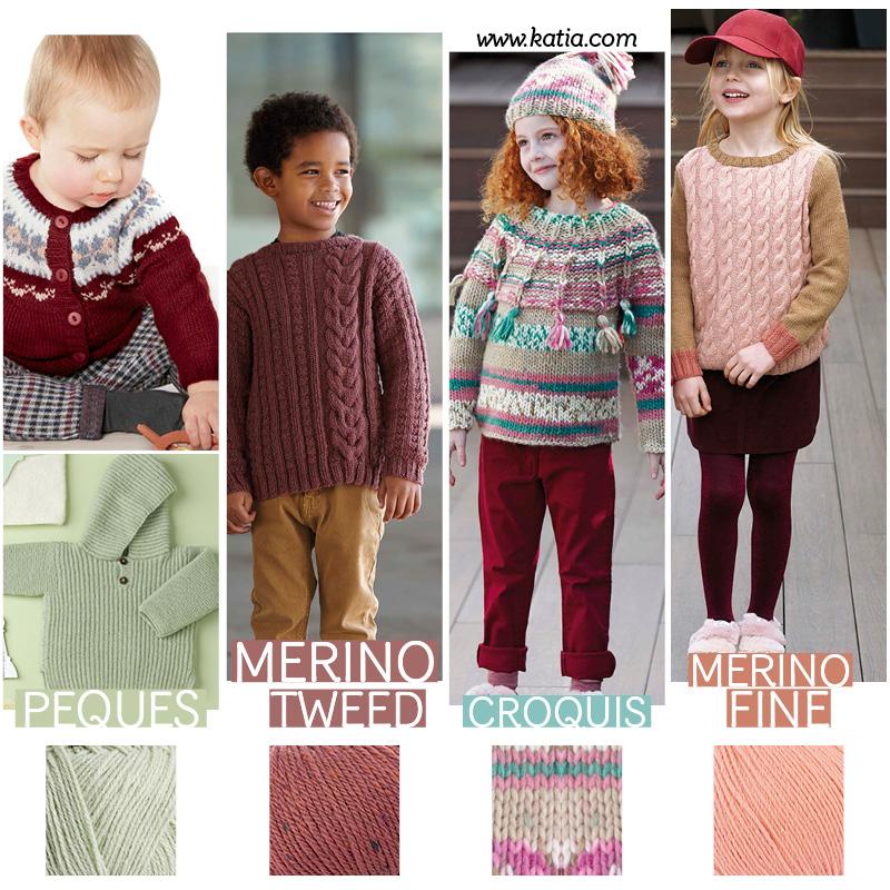 Kids knitting patterns for a 100% handmade back to school season