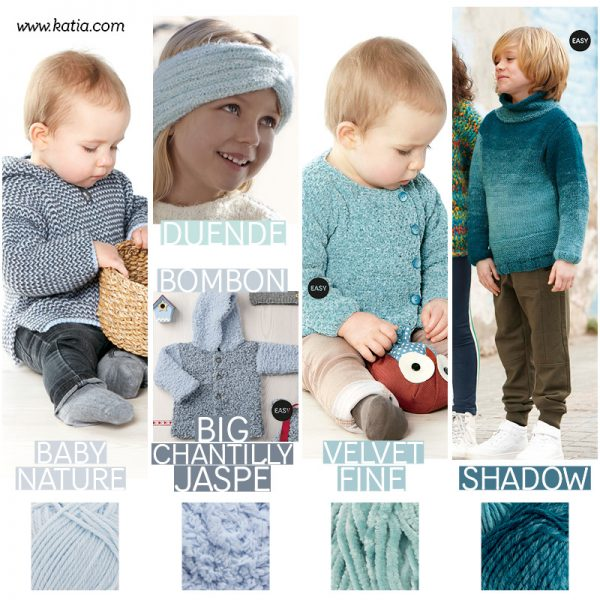 Baby and Kids knitting patterns