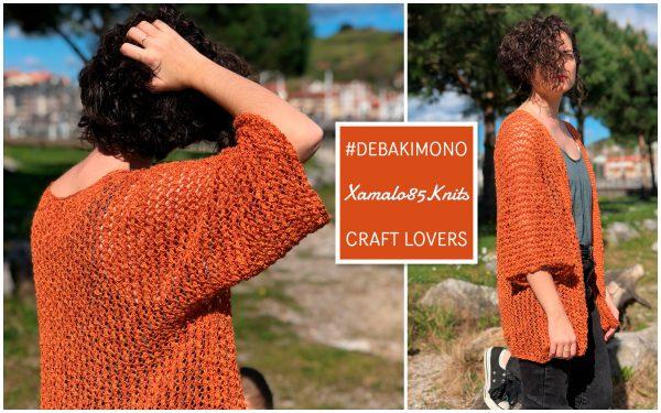 How to knit a kimono