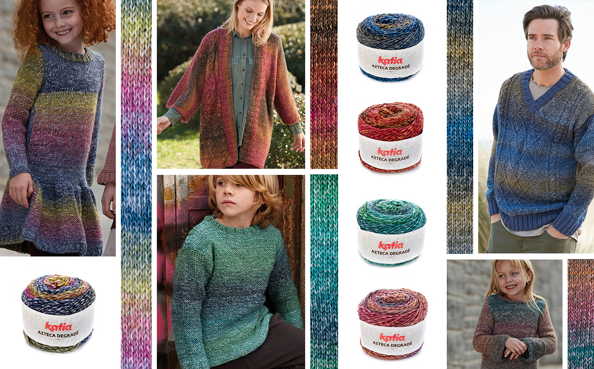 Discover 18 Katia yarns from the new Autumn Winter 2018/2019
