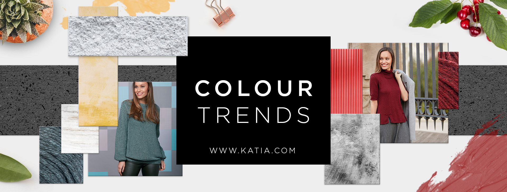 Colour Trends From Concept By Katia To Knit This Autumn Winter 2018 2019