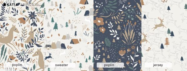 Katia Fabrics Autumn forest