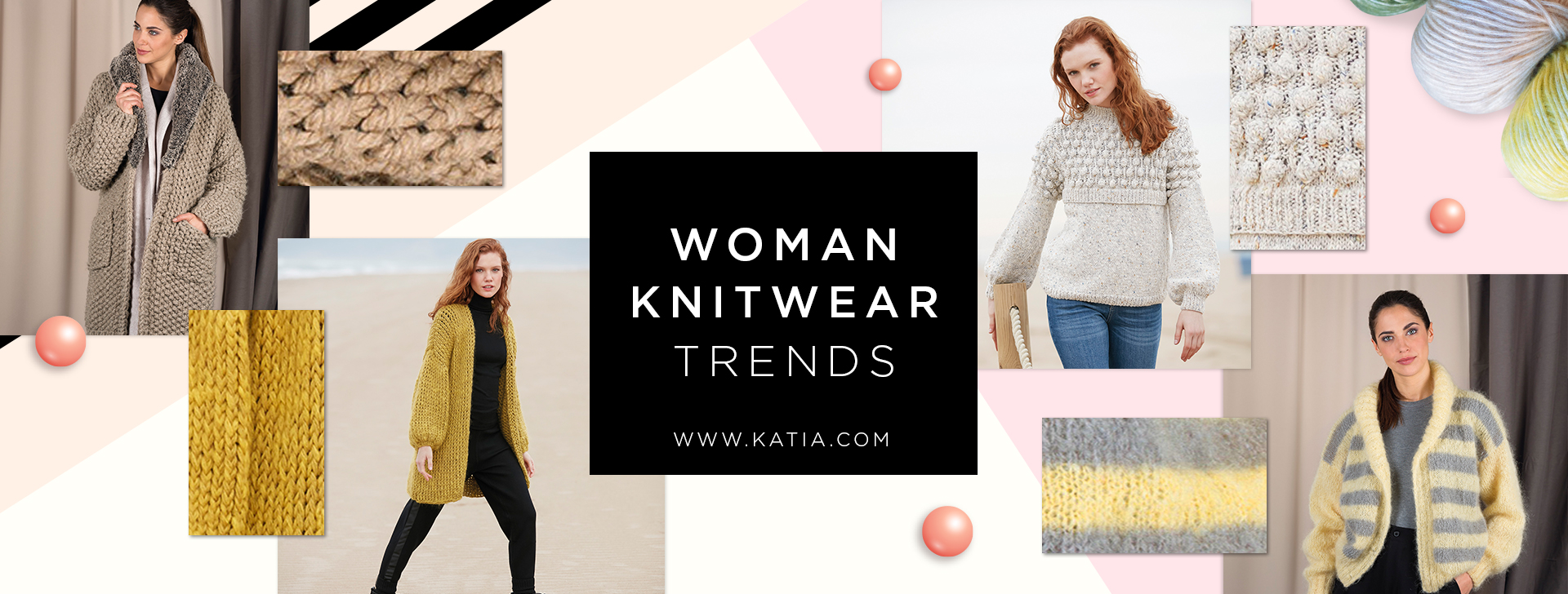 9f9ce5191116 These are the 5 fashion trends that will be parading on your knitting  needles this Autumn Winter 2018 2019
