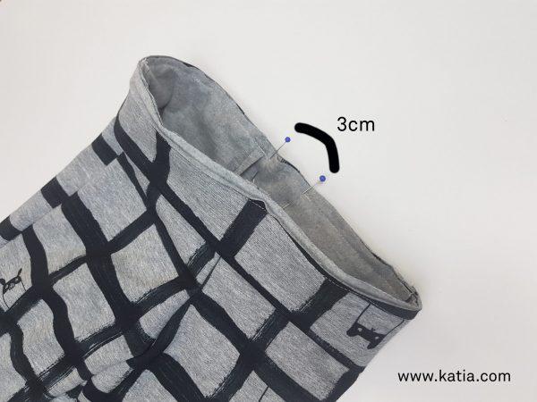 sew waistband opening