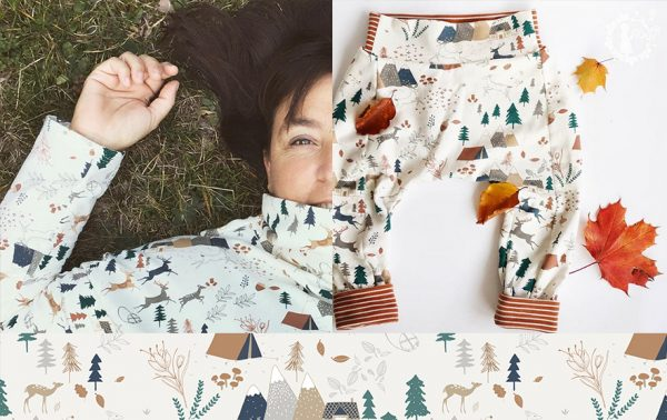 creative room III forest sweater