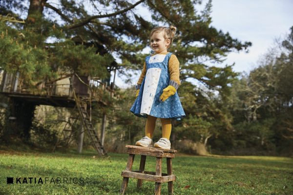 sewing for beginners girls pinafore