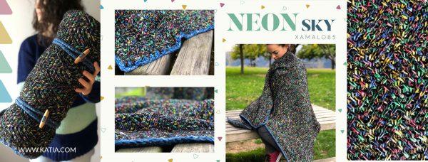 Neon Sky Blanket