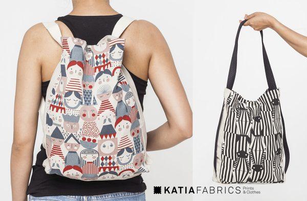 backpacks canvas zebra