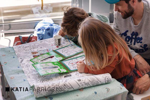 corner family katia fabrics