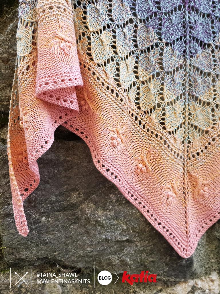 lace knit shawl
