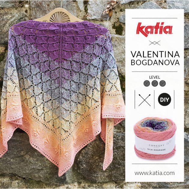 openswork shawl