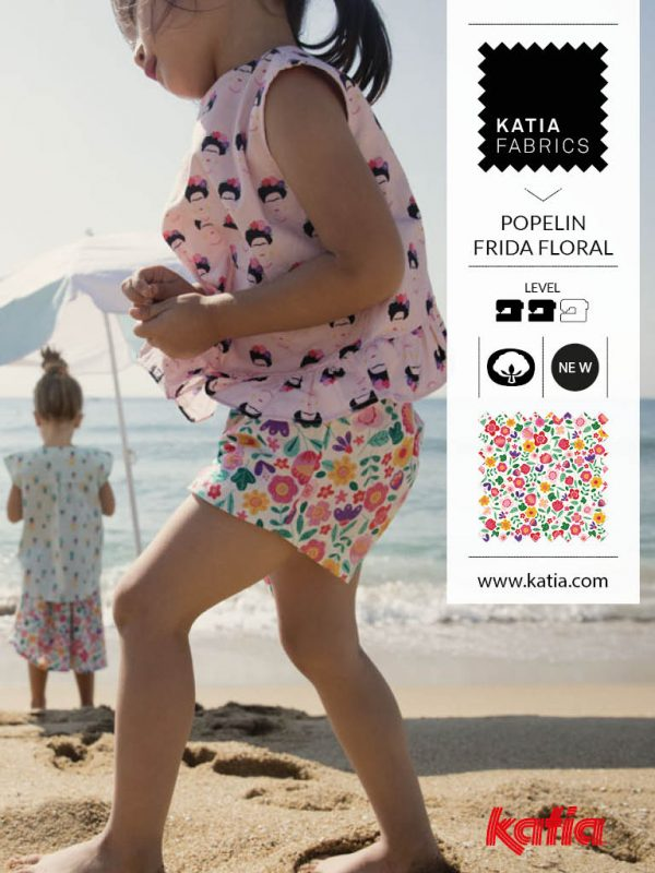 summer fabrics with floral prints