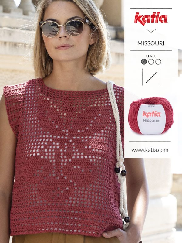 crochet filet top