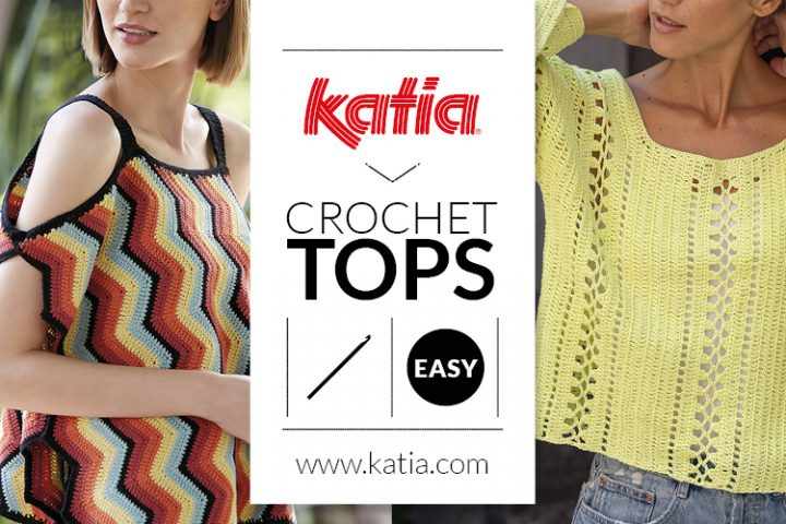easy crochet tops