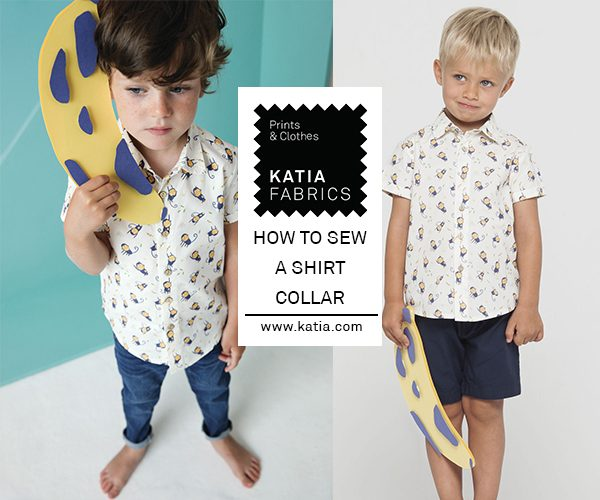 how to sew a shirt collar