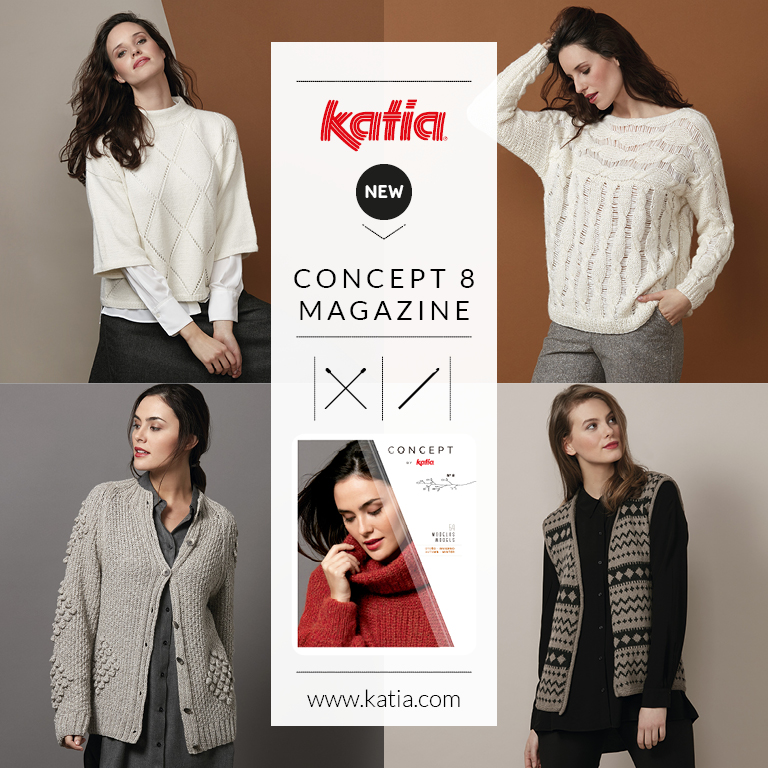 Katia Winter 19 20: Discover the magazine and 6 new Concept