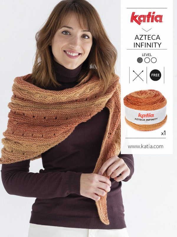 Knit a shawl with only one ball