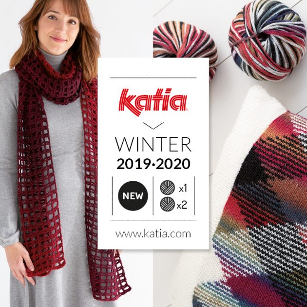 new Katia yarns