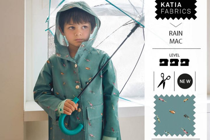 Waterproof rain coat