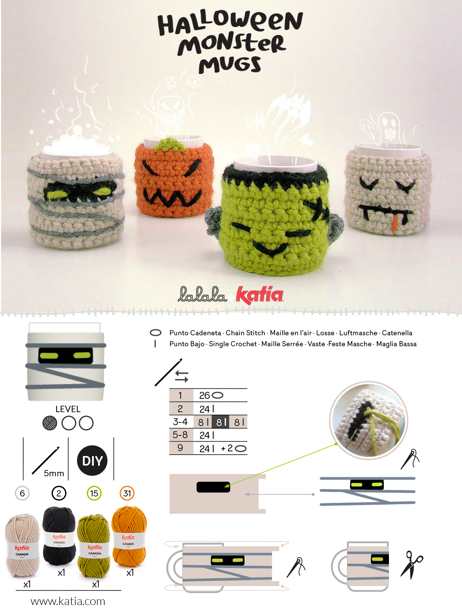 Halloween universal pattern