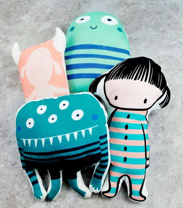monster cushion tutorial
