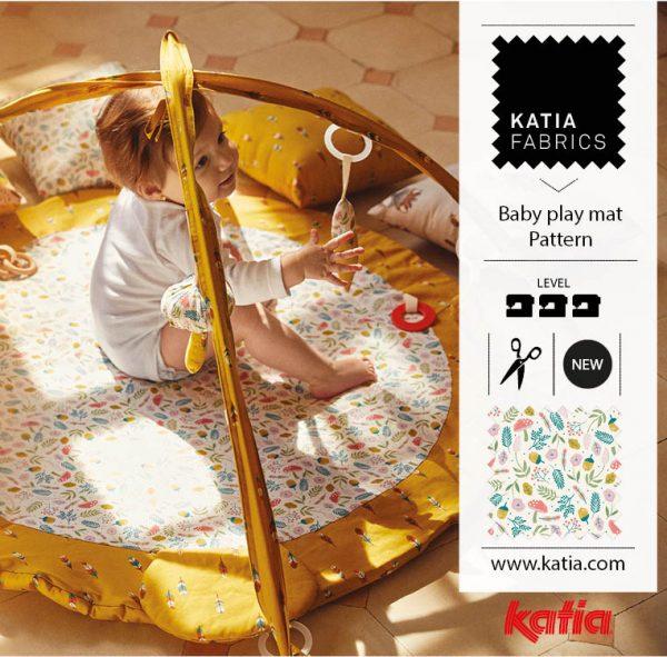 Baby play mat Pattern
