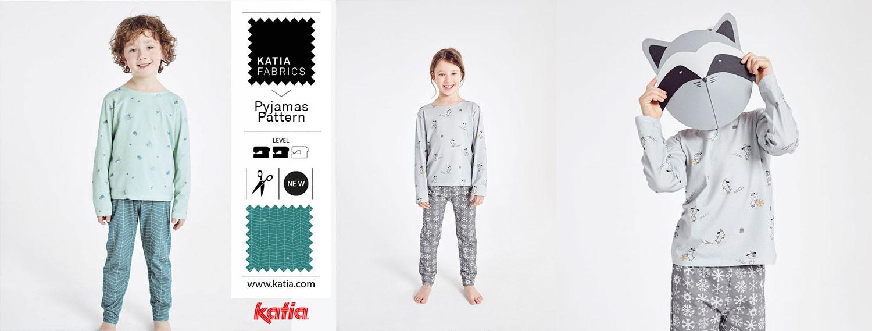 Kids Pyjamas Pattern