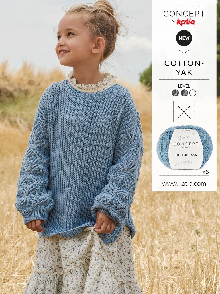 Girl knit sweater