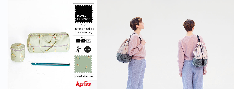 mini yarn holder bag