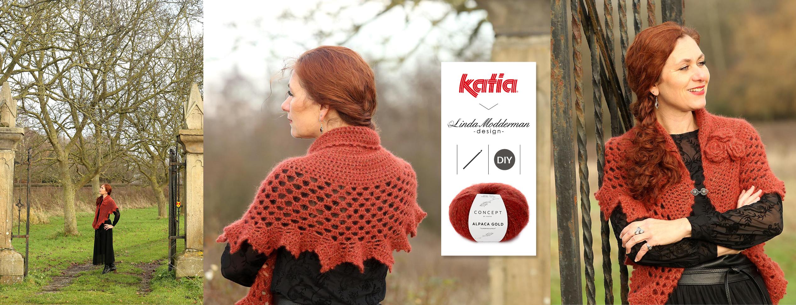 picot edge shawl