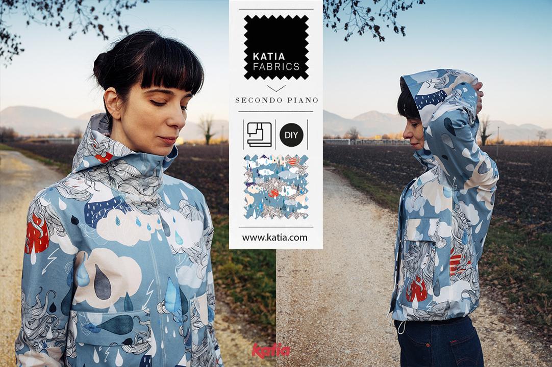 sewing hack rain jacket