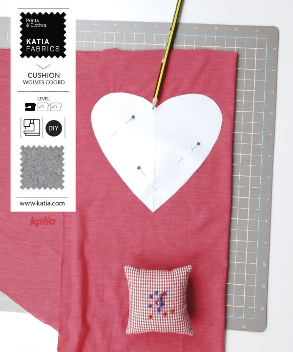 cut the heart pattern
