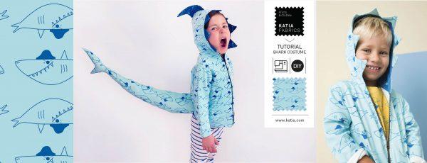 shark costume tutorial