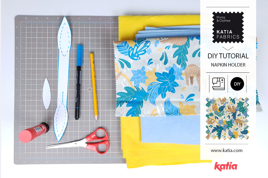 napkin supplies tutorial