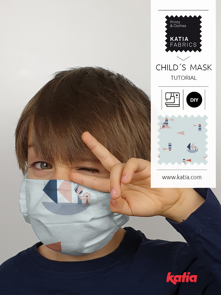 child´s face mask tutorial